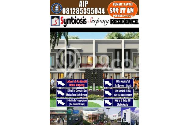 Rumah Cantik Harga Menarik 2Lantai di Ciater BSD Pamulang 8058993