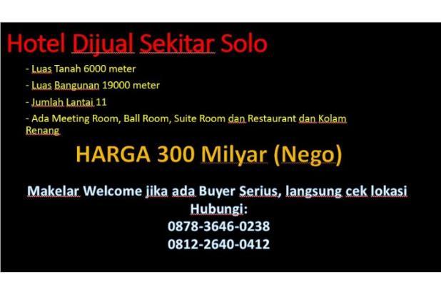 Rp300mily Hotel Dijual