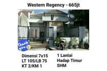 Rumah Western Regency Surabaya Siap Huni Murah