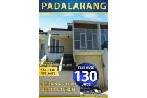 Rumah takeover DP130JT(nego)ccln 4jt Lngsng  notaris SHM dkt Tol Padalarang