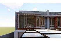 rumah konsep villa minimalis, the orchard residence. dekat tempat wisata