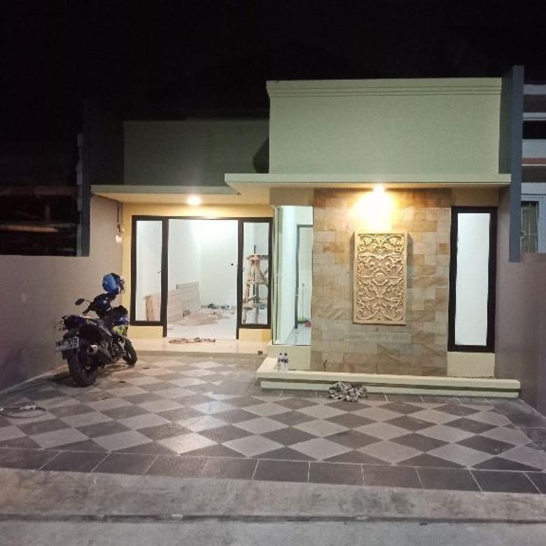 Rumah baru siap huni dan on progress  jakarta