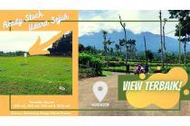 Tanah siap bangun di puncak Bogor
