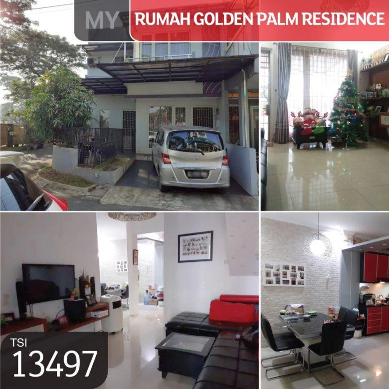 Rumah Golden Palm Residence, Cluster Franchesi, Jakarta Barat,