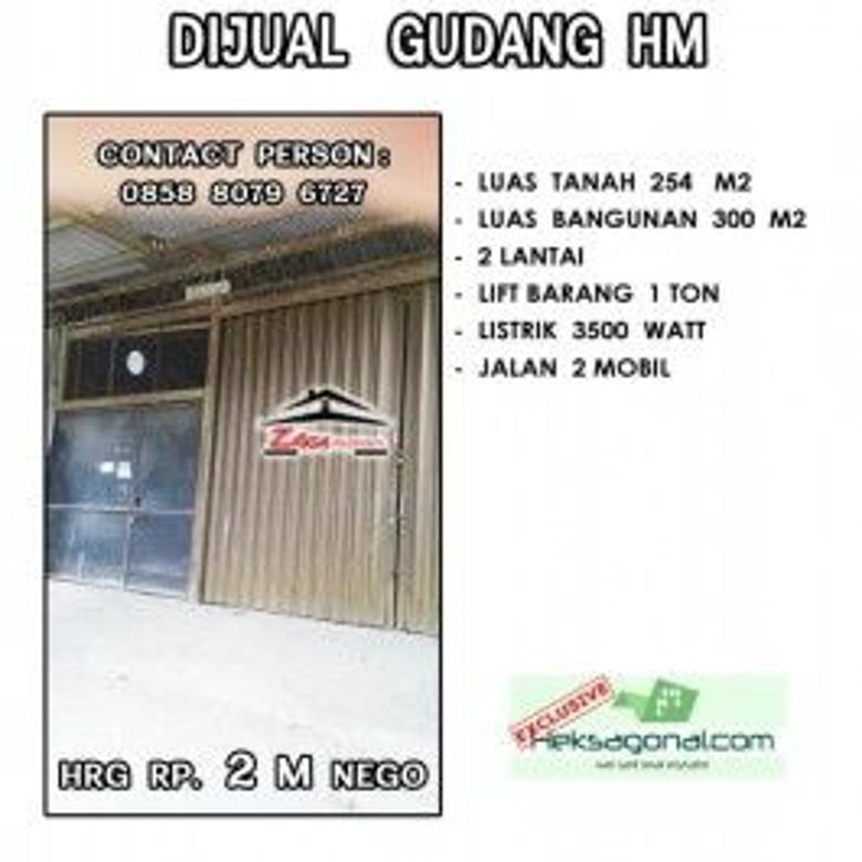 Gudang Dijual Jln. Maluku Jawa Tengah hks5985