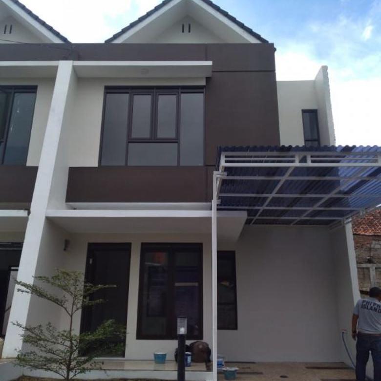 Rumah 2 LT modern termurah strategs mainroad Cihanjuang Bdg