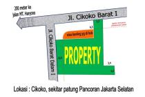 Tanah strategis area sekitar MT.Haryono Jakarta Selatan.