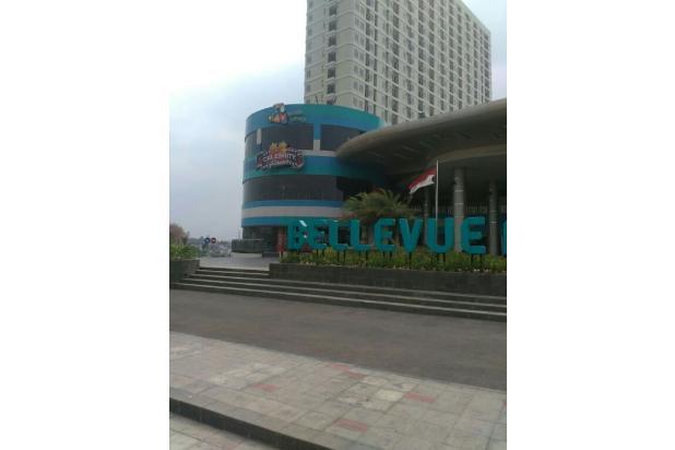 Apartemen Bellevue, 2BR,Un-Furnished,diatas Pusat Perbelanjaan, XXI, CINERE