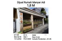 Rumah Manyar Adi Surabaya Tengah Kota Nego