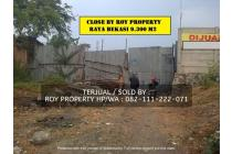 Dijual Tanah Cakung 9,313 m2 Cakung Timur Raya Bekasi Jaktim