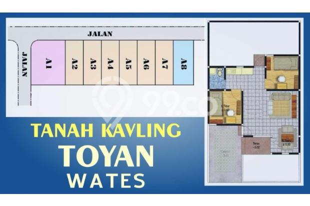 Jual 11 Unit Tanah Kaplingan di Wates Dekat Bandara 13696972