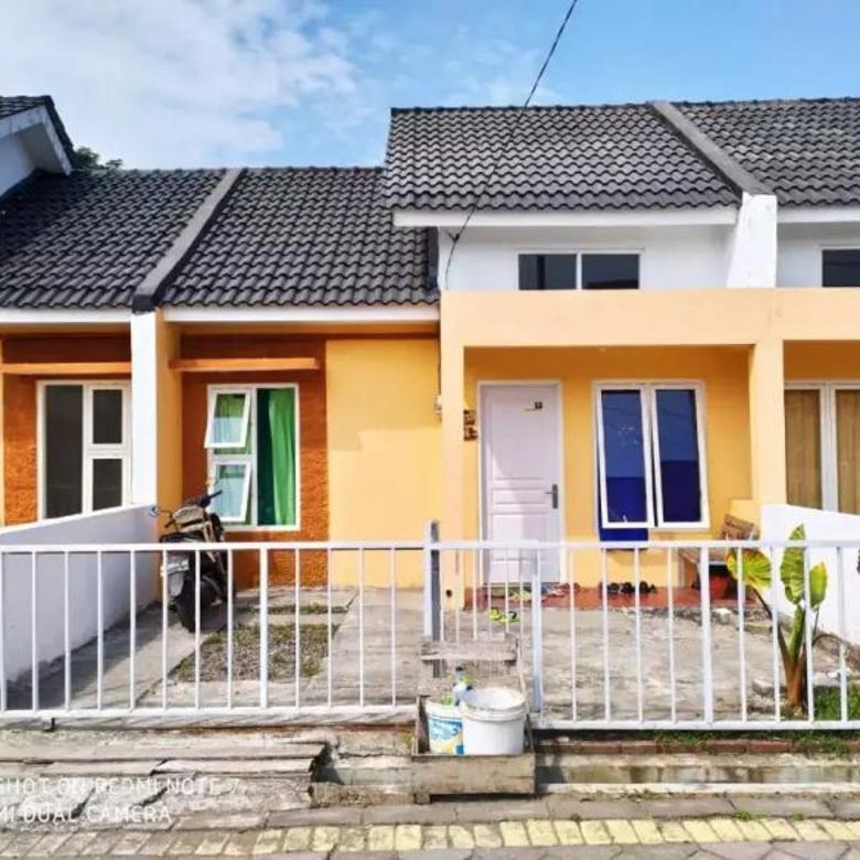 Rumah Buduran Ready Inhouse 5 tahun Flat Tanpa Bunga