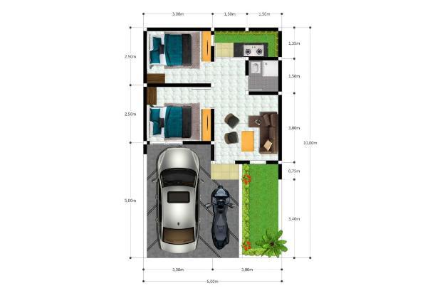 Rp186jt Rumah Dijual