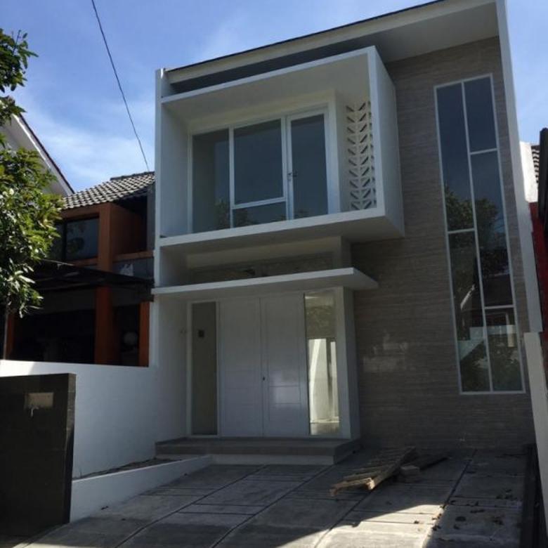 cluster gardenia loka graha raya, rumah 2 lantai siap huni, bangunan baru