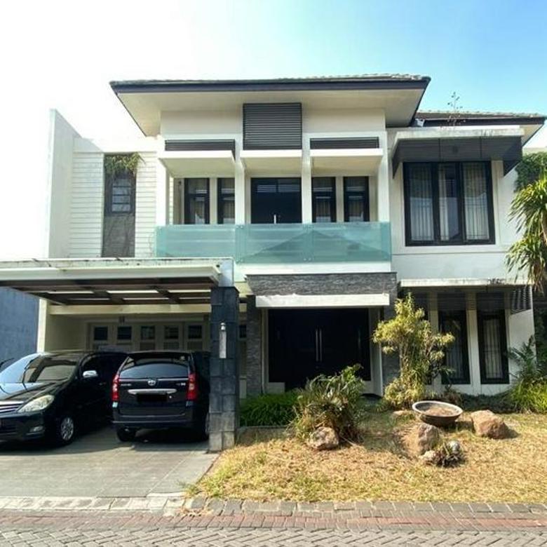 Rumah Villa Bukit Regency Surabaya Barat Row Jalan Lebar