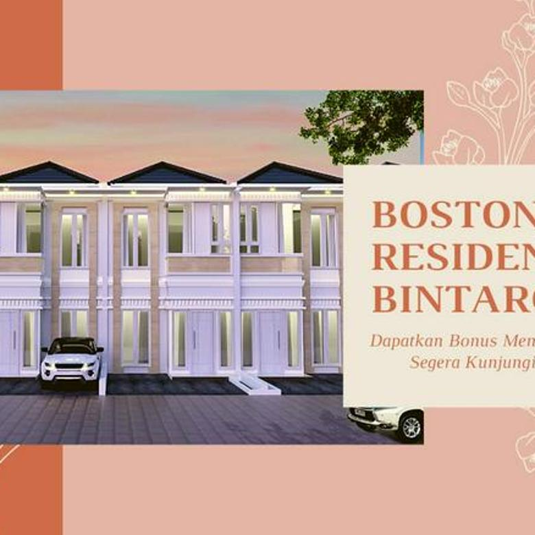 Cluster Murah Bintaro Anti Banjir Boston Residence Bintaro 8