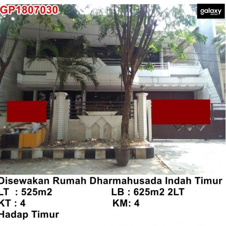 Disewakan Rumah 2Lt Dharmahusada Indah Timur. Nego