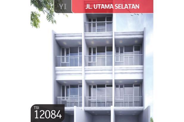 Rumah Jl. Utama Selatan, Cengkareng, Jakarta Barat, 3.3x15m, 3 Lt, SHM 16845452