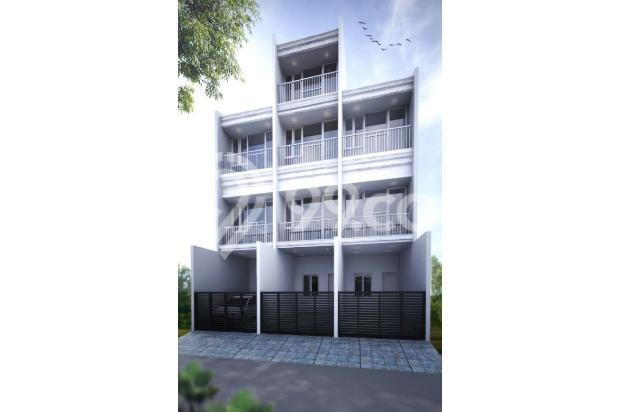 Rumah Jl. Utama Selatan, Cengkareng, Jakarta Barat, 3.3x15m, 3 Lt, SHM 16845456