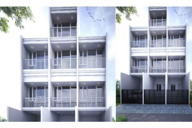 Rumah Jl. Utama Selatan, Cengkareng, Jakarta Barat, 3.3x15m, 3 Lt, SHM 16845457
