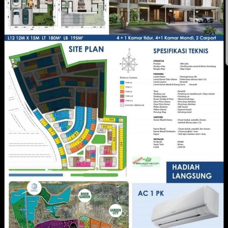 Rumah Dijual MATSU Shinano Jakarta Garden City hks5665