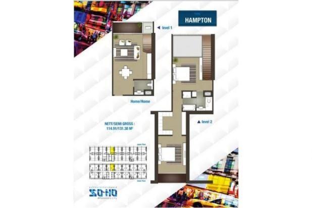 For Sale SOHO Podomoro City Konsep Multi Fungsi Residential/Offic 13426457