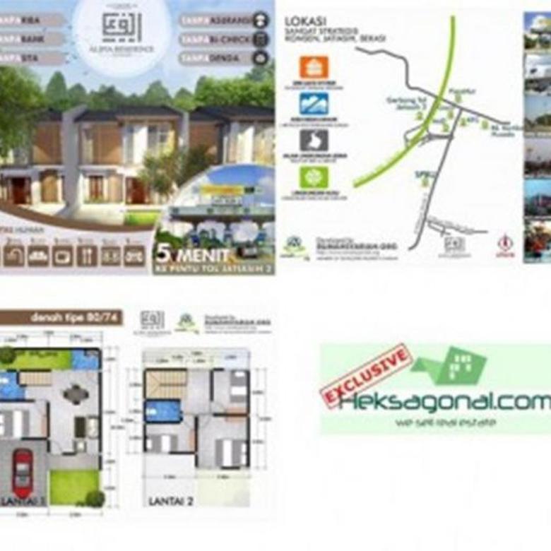 Rumah dijual Alifia residenc jati asih HKS3483