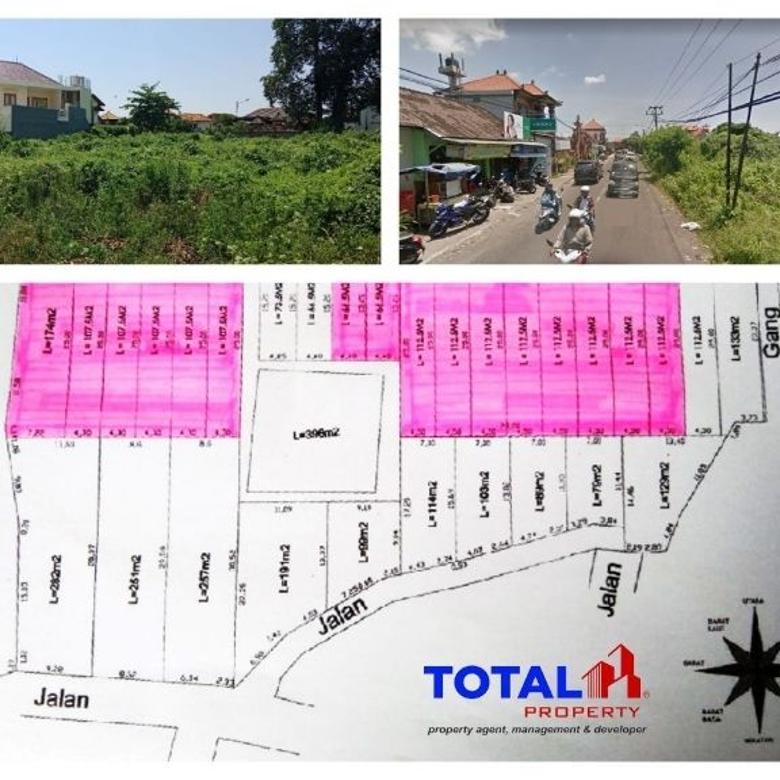 Kavling 700jt /are! Dijual Tanah Kavling Murah Padangsambian