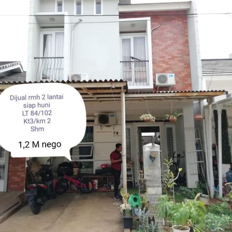 Dijual Rumah Siap Huni di Merpati Raya, Tangerang Selatan