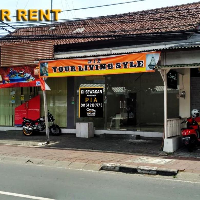 Di Sewakan Toko di Jl. Raya Kerobokan Seminyak Bali