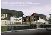 Jalan Sirsak Jagakarsa - Rumah Modern Minimalis -8 Unit Indent