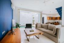 Villa modern minimalis 2 lantai