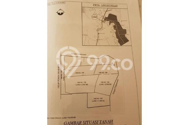 lahan komersil jl Pemda Tigaraksa, luas 1, 5hektar harga 2, 5jt/mtr lebar 16359138