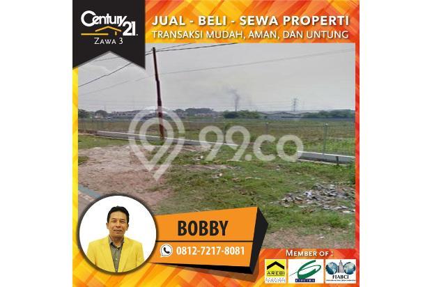 lahan komersil jl Pemda Tigaraksa, luas 1, 5hektar harga 2, 5jt/mtr lebar 16359143