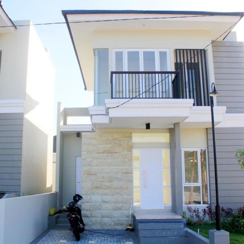 Dijual Rumah Mewah 2 Lantai Type 75/120 di Kota Mataram