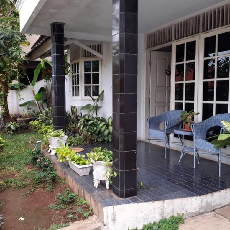 Rumah terawat di daerah Cirendeu, Ciputat