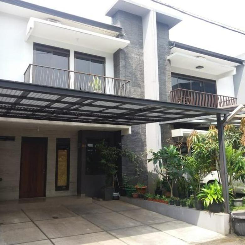 Rumah cantik minimalis cluster one gate sistem siap huni