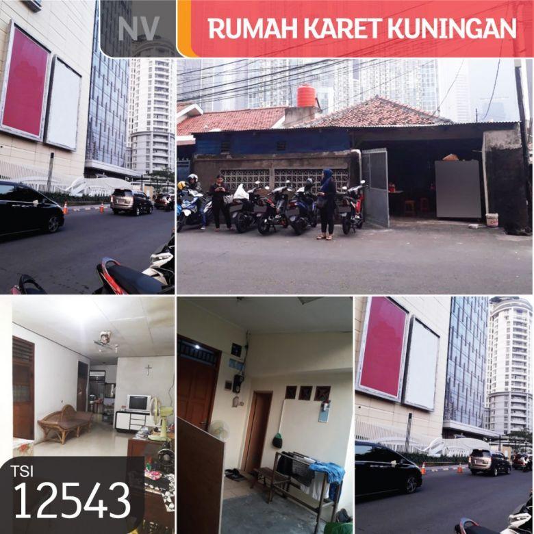 Rumah Karet Kuningan, Setiabudi, Jakarta Selatan, 10x27m, 1 Lt, SHM