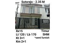 Rumah murah Sutorejo Surabaya Semi Furnish Nego