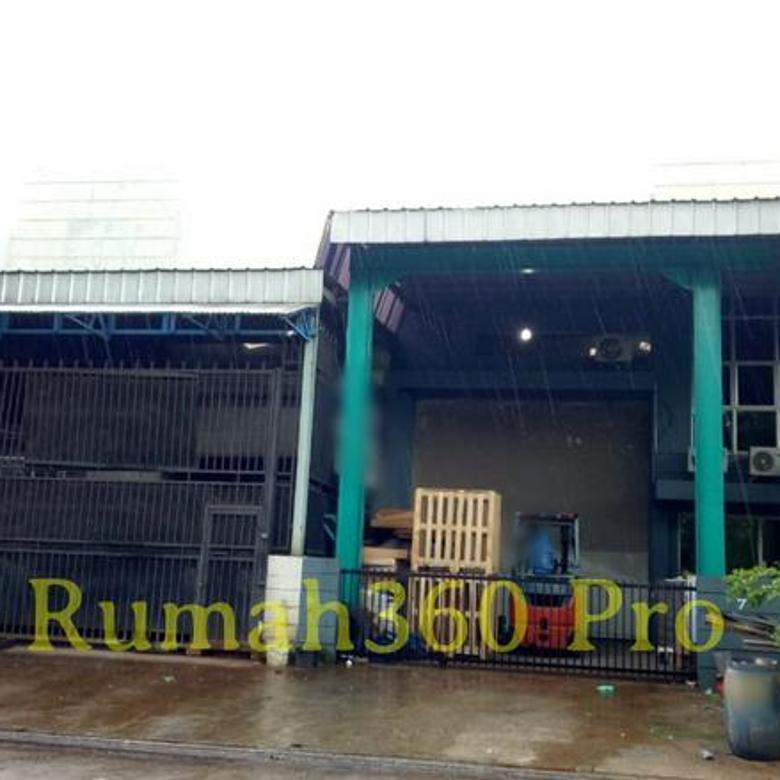 Gudang Taman Tekno BSD luas 300 ada office kecil - TT012