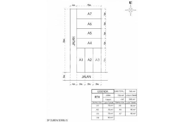 Rumah Baru Serua: Program KPR DP 0% Jaminan Akad 17341418