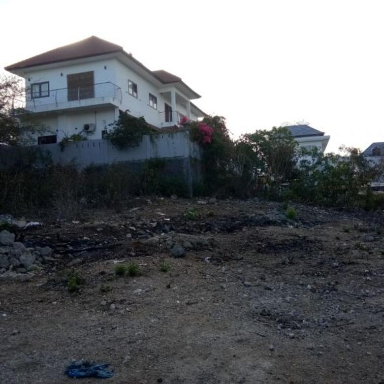 tanah kavling di puri gading jimbaran,lingkungan villa