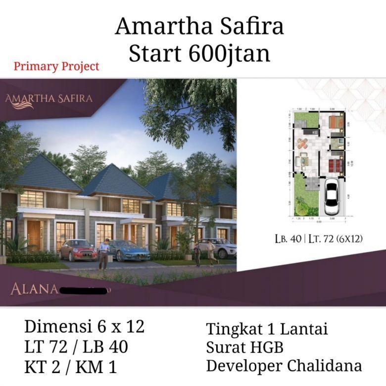 Rumah Baru Amartha Safira Sidoarjo Safira Group