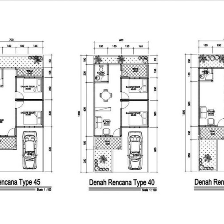 Rumah Cluster Baru Dijual Murah Kawasan Pamulang