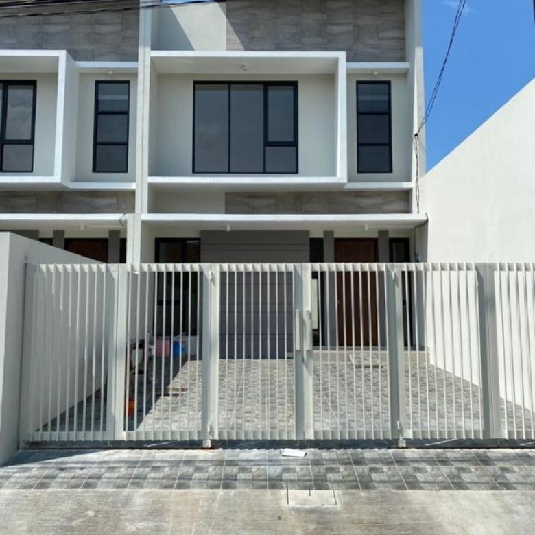 Rumah Durian Pondok Chandra baru gress minimalis Akses Toll