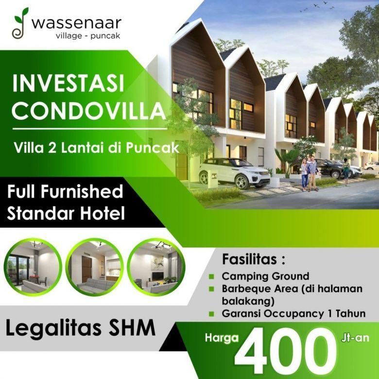 Investasi Villa Di Puncak Promo Full Furnished Standar Hotel
