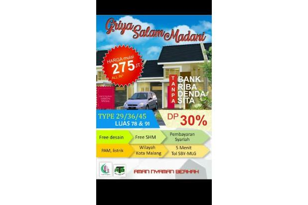 Dijual Rumah Aman dan Nyaman di Griya Salam Madani, Malang 16226634