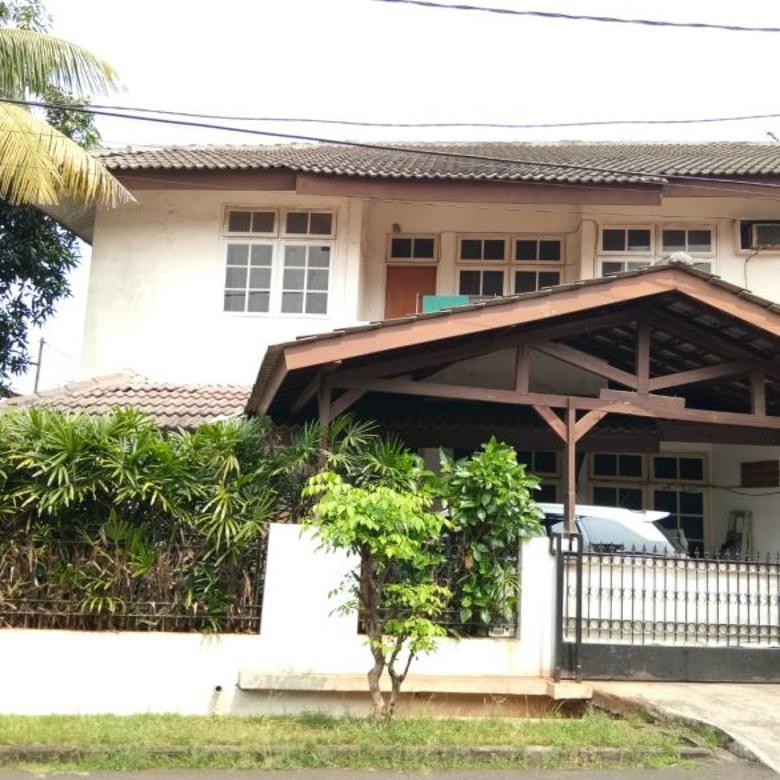 Dijual Rumah Hoek Tanah Luas di Pondok Kelapa Indah Jaktim