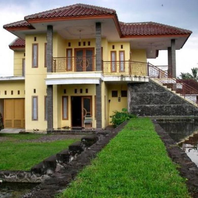 Jual Villa Luas dan Strategis di Kampung Pesawahan Cipanas, Garut