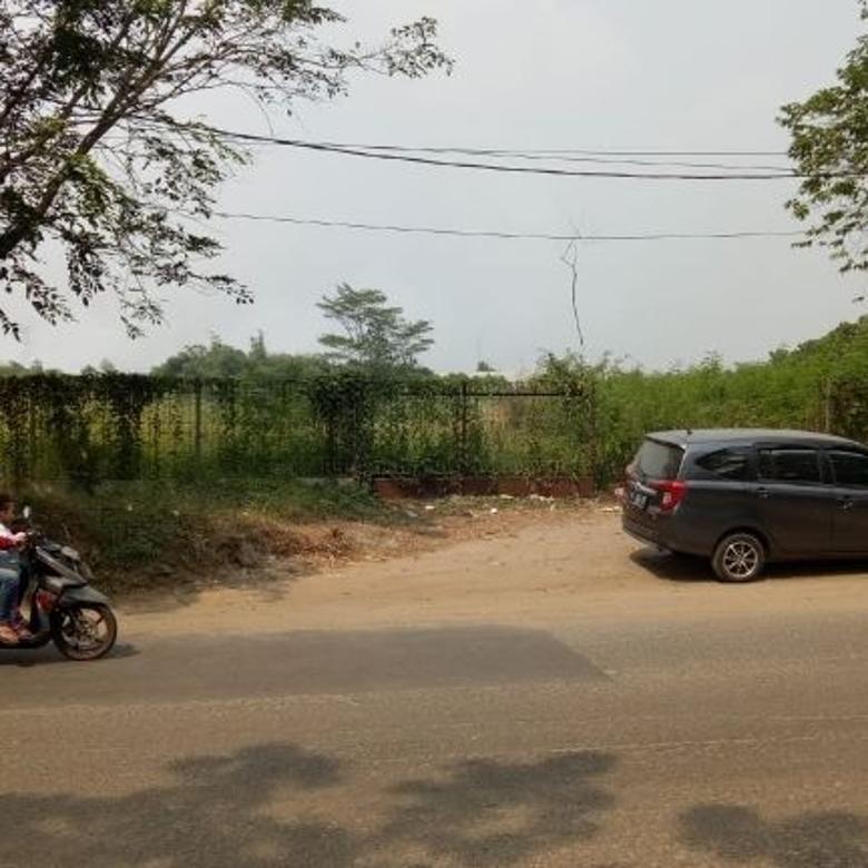Tanah Komersil Jl Raya Pemda Tigaraksa
